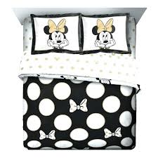 Winsome Minnie Mouse Comforter Set Full Twin Red Disneyr Gray White ...