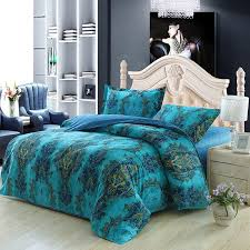 teal satin bedding designs