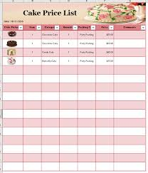 Ideas Collection For Free Printable Price List Template With Sample ...