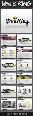 best creative presentation ideas presentation presentation templates ideas is king creative powerpoint template graphicriver design presentation
