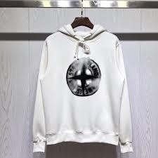 Designer Brand With Compass Logo 2019 Stone Island Designer Luxury Mens Hoodies Tide Brand Boutique Sweatshirts Phantom Compass Logo Large Print Plus Velvet Thick Hoodie From