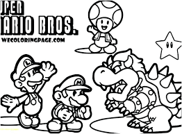 Free Mario Coloring Pages Free Coloring Pages Complete Guide Example