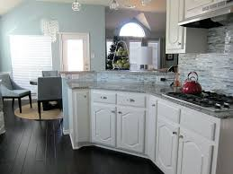 dark wood floor kitchen. Grey Wood Floor Kitchen Image Of White Cabinets With Dark Hardwood Floors Solid Gray 1