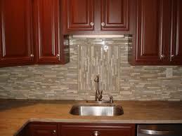 Glass Backsplash For Kitchen Glass And Stone Backsplash With Accent Backsplash Ideas Tile