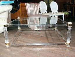 acrylic coffee tables acrylic coffee table tray lucite coffee table uk