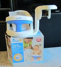 safety first 1st tubside swivel baby bath tub seat chair ring bathtub new nib