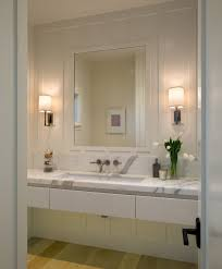 contemporary wall sconces bathroom. San Diego Contemporary Wall Sconces Hall With Transitional Bathroom Vanities And Neutral Colors Custom Mirror D