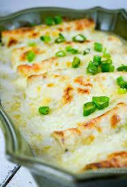 white en enchiladas with video