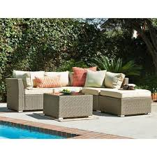 Brown sofa sets Chair Jicaro Piece Outdoor Wicker Sectional Sofa Set Thy Hom Rattan Imports Rooms To Go Jicaro Piece Outdoor Wicker Sectional Sofa Set Thy Hom Rattan