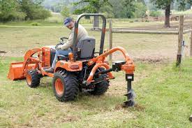 Pd10 Series Post Hole Diggers Land Pride Tractors Sub Compact Tractors Kubota Tractors
