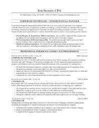 controller resume template controller resume