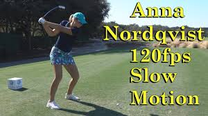 She has won three major championships: Anna Nordqvist 120fps Slow Motion Dtl Offset Driver Golf Swing 1080 Hd Youtube