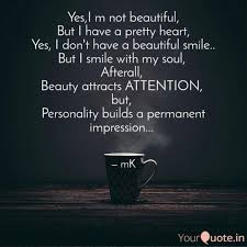 Not Beautiful Quotes