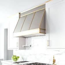 brass range hood stainless steel kitchen hood with brass trim antique brass range hood