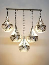 moroccan style lighting fixtures. Moroccan 5 Pendant Bar Light The Dancing Pixie Lights . Best 25 Style Lighting Fixtures C