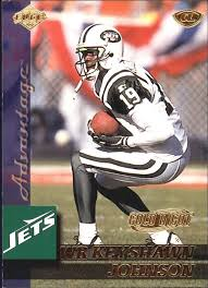 1999 collector s edge advantage gold ingot football card 109 keyshawn johnson