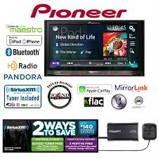pioneer 4200nex. pioneer avh-4200nex in dash double din dvd receiver with siriusxm sxv300v1 tuner and antenna 4200nex