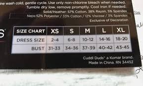 10 Cuddl Duds Size Chart U Seatle Davidjoel Cuddl Duds