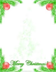 Word Templates Christmas Free Word Background Template Naomijorge Co