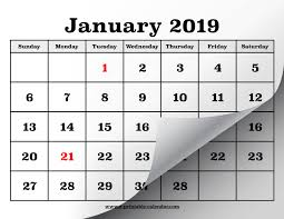Print Out Calendar Printable Calendar Pages For 2019