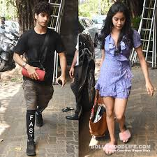 jhanvi kapoor and ishaan khatter enjoy a lunch date