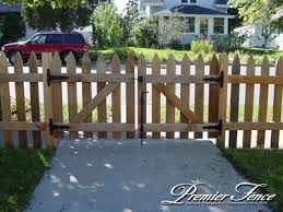 picket fence double gate.  Picket Picket Fence Gate Wood Gates Sitez Co In Design 19 And Double K