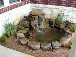 a cute little pond for someone with not