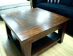 large dark wood coffee table uk square