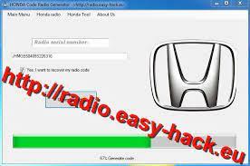 Honda Radio Code Unlock Error Code Radio Code Radio Honda