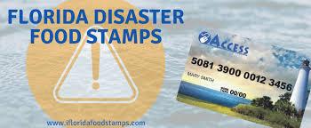 D Snap Income Chart Disaster Food Stamps Florida Smarter Florida