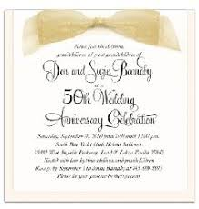 50th Anniversary Party Invitations Wording For 50th Wedding Anniversary Invitations 50th