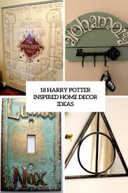 harry potter inspired home decor ideas