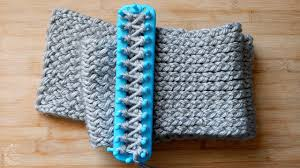 Loom Knitting Patterns For Beginners Adorable How To Loom Knit A Scarf Easy Pattern For Beginners The Sweetest
