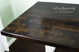 Image Kitchen Refinished Table Stacy Risenmay How To Refinish Table Stacy Risenmay