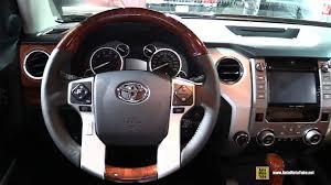 2017 toyota tundra 1794 edition interior walkaround 2016 la auto show