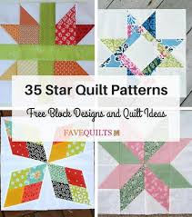 Star Quilt Block Patterns
