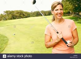 Mature female golf photos