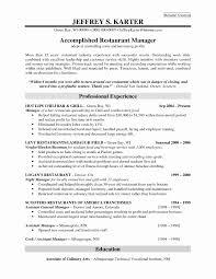Resume Format For Bartender New Bartender Resume Bartender Resume