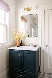 Our Warm Neutral Bathroom Refresh With Diy Wall Paneling Ruffled