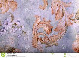Detail Van Uitstekend Sjofel Elegant Behang Stock Foto Afbeelding