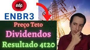 ENBR3 Dividendos, Preço Teto e Analise 4T20 da EDP Energias do Brasil em  2021 - YouTube