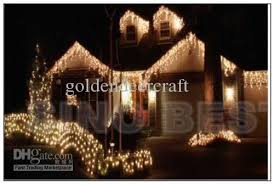 Waterproof Outdoor 480 LED 16M Icicle Lights For Garden Christmas ...