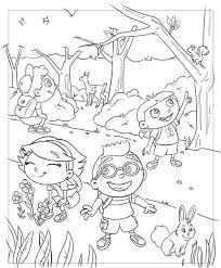 Small Picture Little einsteins coloring pages in the jungle ColoringStar