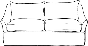 couch clipart black and white. Interesting Couch Banner Transparent Library Sofas Long Island Medium Royalty Free Sofa  Clipart  In Couch Clipart Black And White