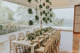 Venue Designer Say Yes To This Reception Setup With Enchanting Tropical