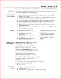 Lvn Resume Skills Beautiful Sample 14 Licensed Vocational Nurse Job