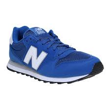new balance blue. new balance gm500bsw mens lifestyle 500 - blue/white | lazada indonesia blue