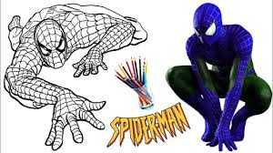 Not every ordinary man can make a difference to save the world. Spiderman Coloring Book For Kids Learn Colors Coloring Pages 3 Spiderman Coloring Coloring Pages Coloring Books