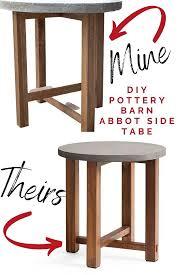 easy diy outdoor concrete table the