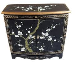 hall cabinets furniture. Oriental Chinese Furniture - Blossom 2 Door Cabinet: Amazon.co.uk: Kitchen \u0026 Home Hall Cabinets